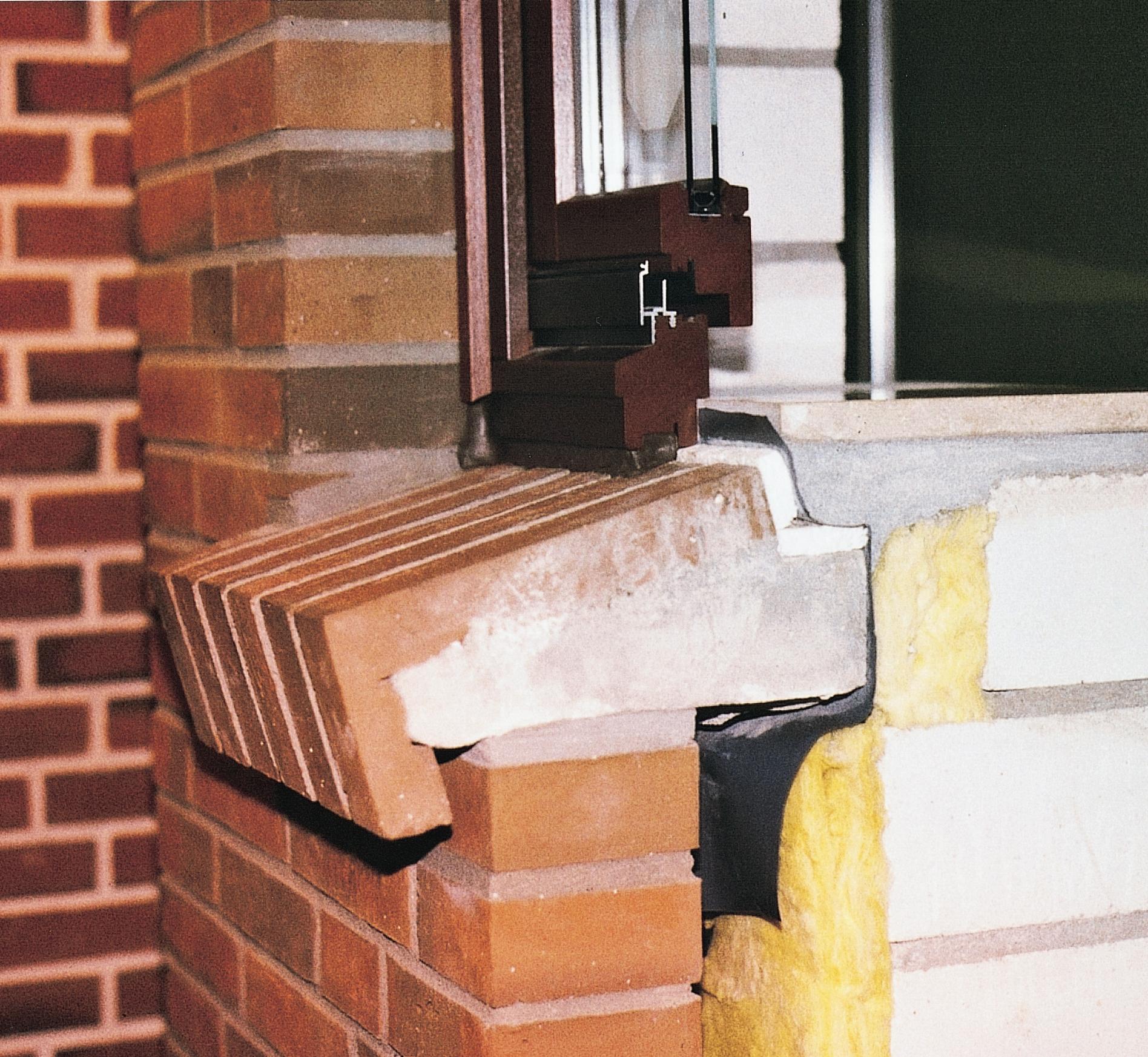 Fensterbank ziegel