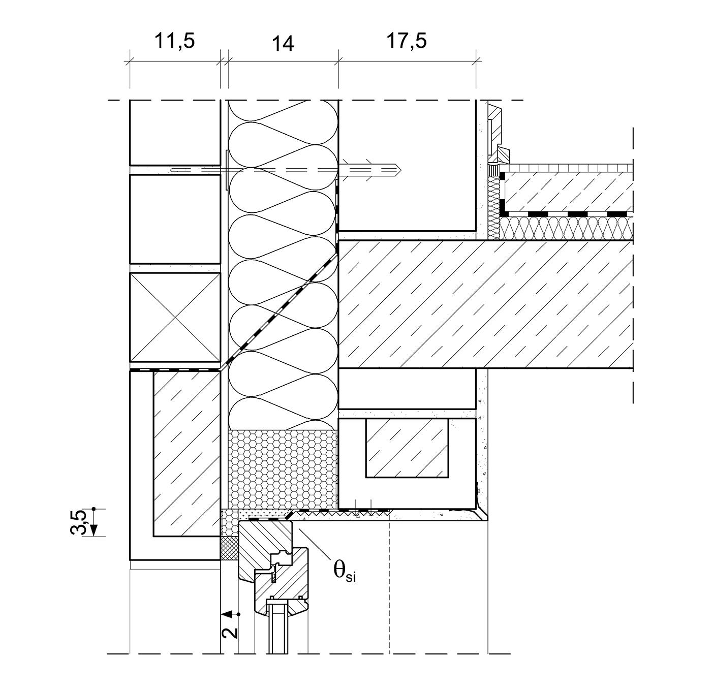 4 7 1 6 anschlusspunkt fenster architektenordner. Black Bedroom Furniture Sets. Home Design Ideas